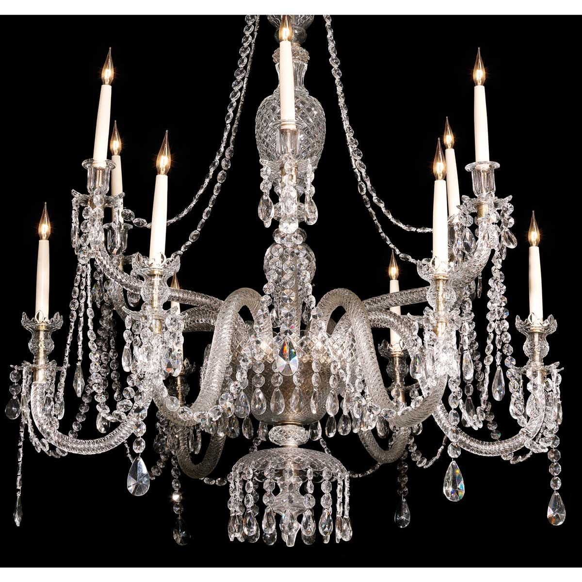 The Lead Crystal Curzon Chandelier