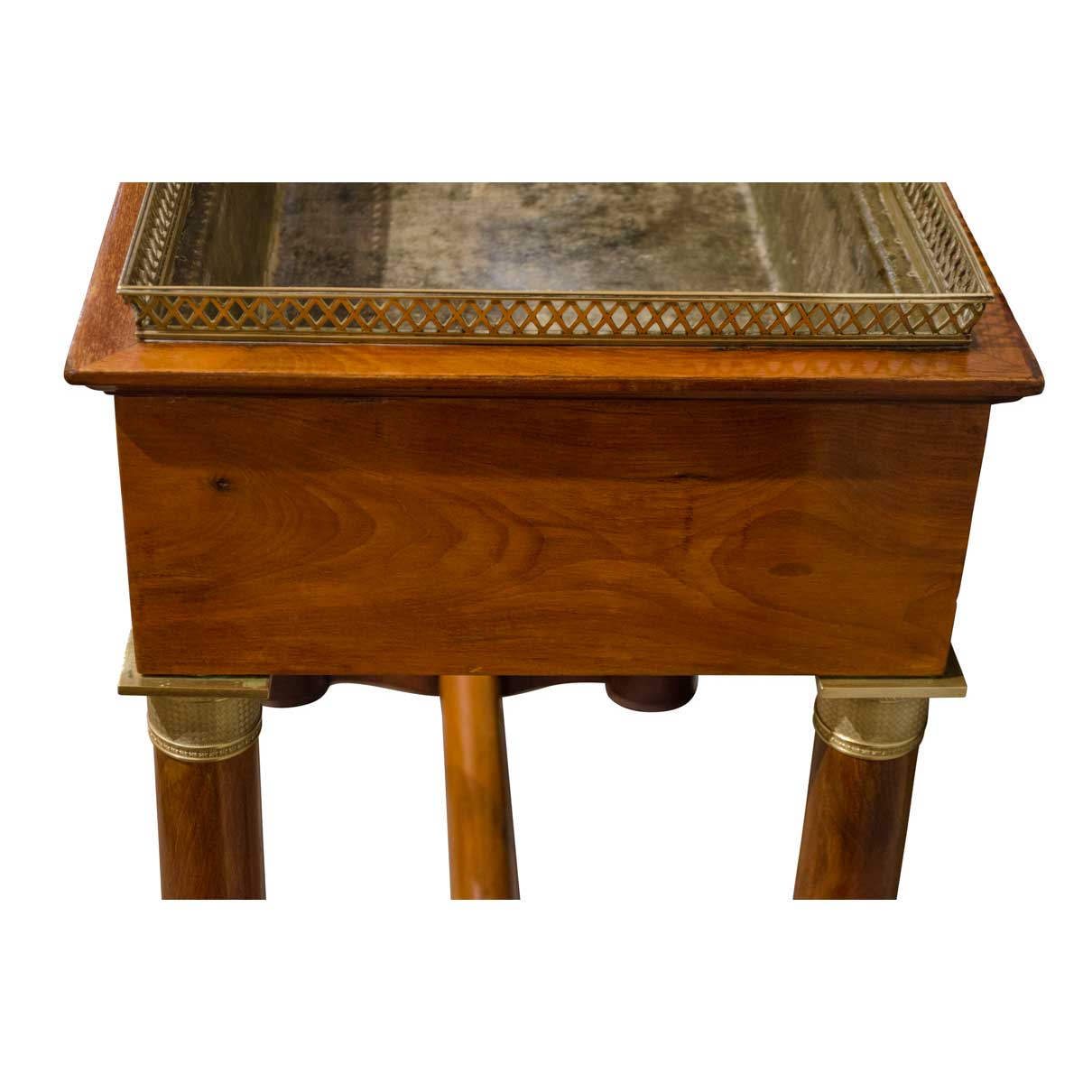 19th Century Antique French Mahogany Jardinière