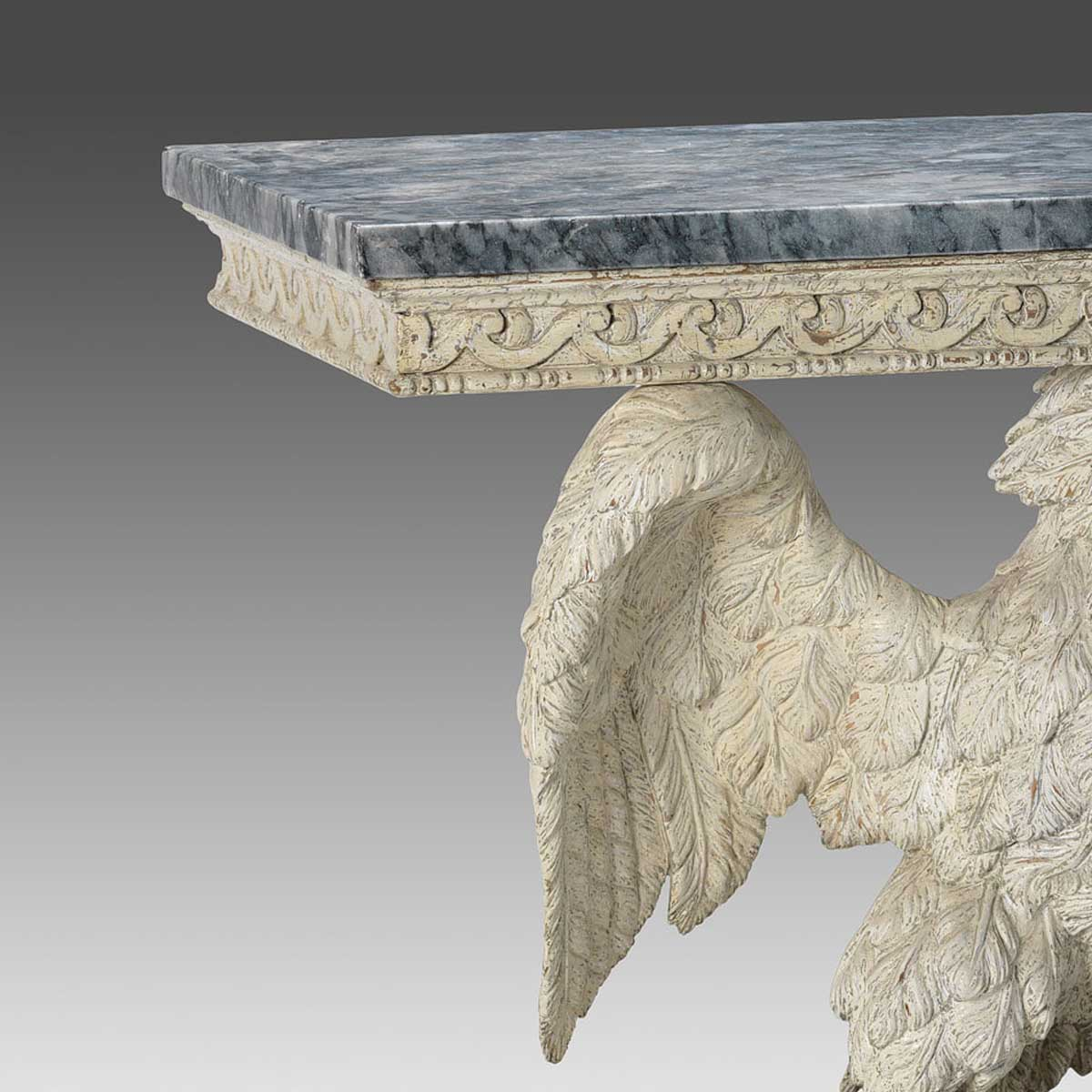 A pair of George II Style Eagle Consoles